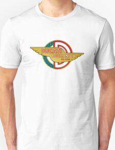 DUCATI MECCANICA VINTAGE LOGO Unisex T-Shirt