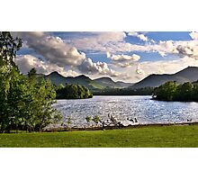 Derwentwater View From Crow Park Keswick Photographic Print