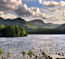 Derwentwater View From Crow Park Keswick Sticker