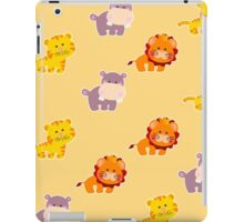 Seamless pattern african animals iPad Case/Skin