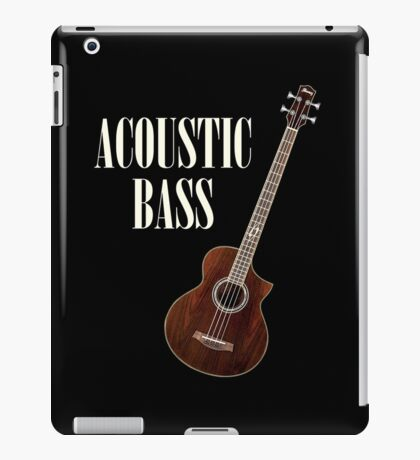 Acoustic Bass iPad Case/Skin