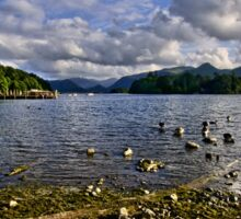 Derwentwater From The Northern Shore  Sticker