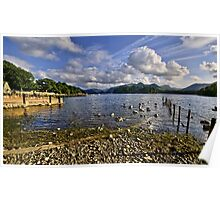 Derwentwater From The Northern Shore  Poster