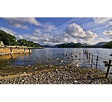 Derwentwater From The Northern Shore  Photographic Print