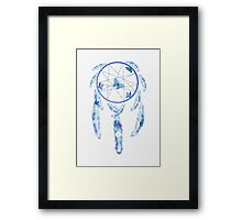 Dream Catcher Blue  Framed Print