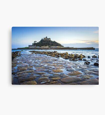 St Michaels Mount Cornwall Canvas Print