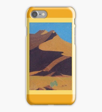 Desert Dune Pastel Art - Namib iPhone Case/Skin