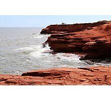 Cliffs of Cavendish PEI  Photographic Print