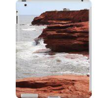Cliffs of Cavendish PEI  iPad Case/Skin