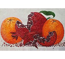 pomegranate of victory Photographic Print
