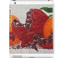 pomegranate of victory iPad Case/Skin