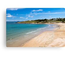 Daymer Bay Cornwall Canvas Print