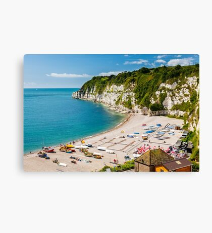 Beer Devon England UK Canvas Print