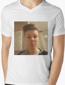 Pyrosenpai Mens V-Neck T-Shirt