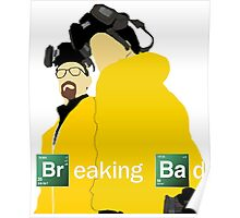 Jesse and Walt - Breaking Bad (with Logo) Poster