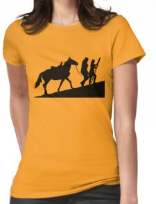 xena gabrielle and argo warrior princess Womens Fitted T-Shirt