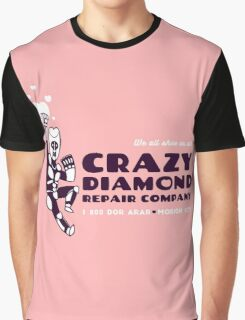 Crazy Diamond Repair Co. [2-Color Ver.] Graphic T-Shirt