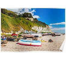 Beer Devon England UK Poster
