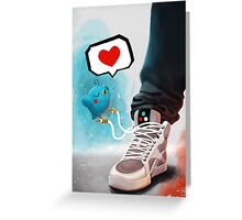 sneaker Love Greeting Card