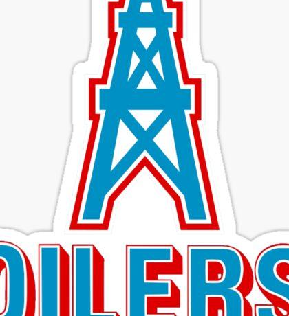 HOUSTON OILERS FOOTBALL RETRO (1) Sticker