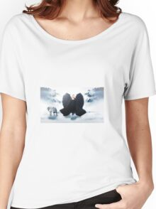 The Angel and wolf Women's Relaxed Fit T-Shirt