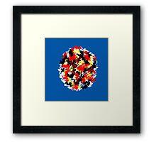 Warp dimension Framed Print