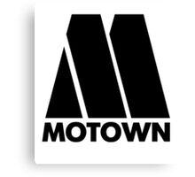 MOTOWN DISCO RECORDS Canvas Print
