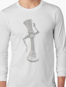 Feminine chess queen Long Sleeve T-Shirt