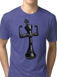Masculine chess king Tri-blend T-Shirt
