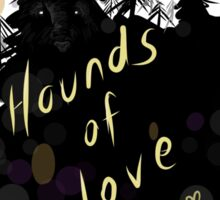 Kate Bush - hounds of love Sticker