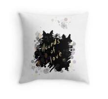Kate Bush - hounds of love Throw Pillow