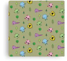 Cute Little Monsters  Canvas Print