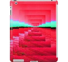 Red Abstract iPad Case/Skin