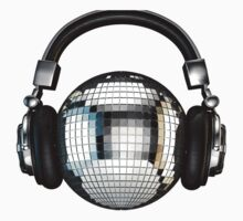 Headphone disco ball Kids Tee