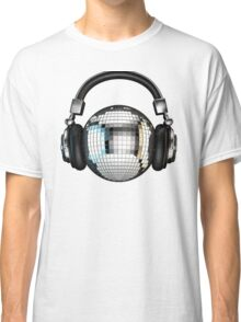 Headphone disco ball Classic T-Shirt
