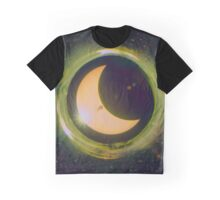 Space Eclipse Graphic T-Shirt