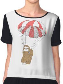 Sloth Parachute Chiffon Top
