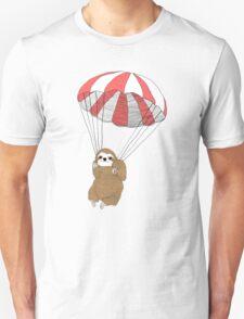 Sloth Parachute Unisex T-Shirt