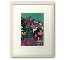 Tropical Tendencies Framed Print