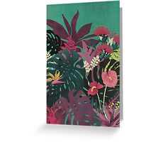 Tropical Tendencies Greeting Card