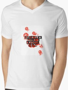 The White Stripes - Ball and a biscuit  Mens V-Neck T-Shirt