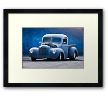 International Hot Rod Pickup '3Q Driver's Side' Framed Print