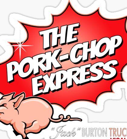PORK-CHOP EXPRESS JACK BURTON BIG TROUBLE IN LITTLE CHINA Sticker