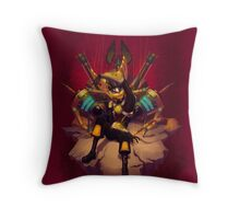 ShellShock - The Puppet Master Throw Pillow