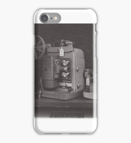 Old 16mm Film Projector iPhone Case/Skin
