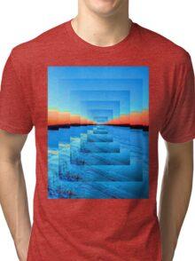 Infinity Snow Tri-blend T-Shirt