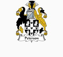 Peterson Coat of Arms / Peterson Family Crest Unisex T-Shirt