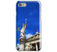 Pallas Athene Fountain iPhone Case/Skin