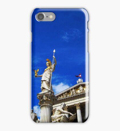 Pallas Athene Fountain iPhone Case/Skin