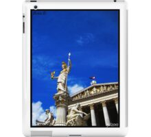 Pallas Athene Fountain iPad Case/Skin